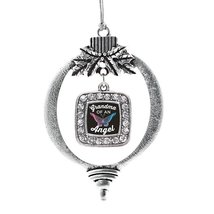 Inspired Silver Grandma Of An Angel Classic Holiday Decoration Christmas Tree Or - $14.69