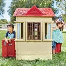 New Kids Toddlers Cape Cottage Playhouse Indoor/Outdoor Doors Windows Shutters - $185.00
