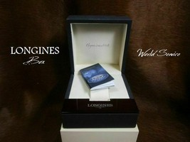 Longines World Service Manual Watch Case Empty Box - $225.00