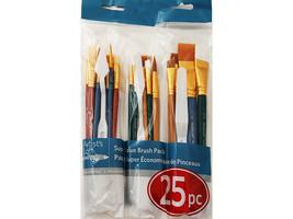 Artist's Loft Super Value Brush Pack, 25 Pieces #503498