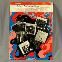 Vtg Peter Paul Mary Made Easy For Chromatic Harmonicas Music Song Book B... - $19.91