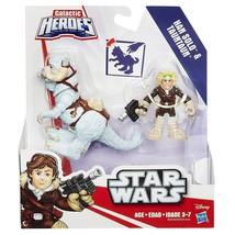 Star Wars - Playskool Galactic Heroes - Han Solo & Tauntaun - NEW - NIB - $12.86