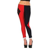 Harley Quinn Leggings Red - $29.98