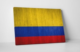 "Vintage Flag of Colombia Gallery Wrapped Canvas 20""x30"" - $53.41"