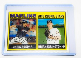 MLB CHRIS REED BRIAN ELLINGTON MARLINS ROOKIE STARS 2016 TOPPS #169 MINT - $1.61
