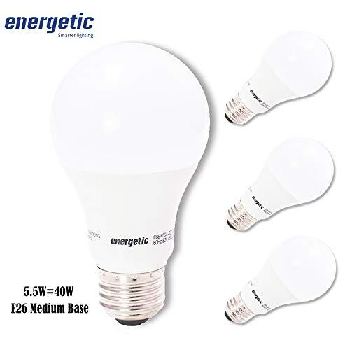 40w Equivalent A19 Led Light Bulb By Energetic Smarter