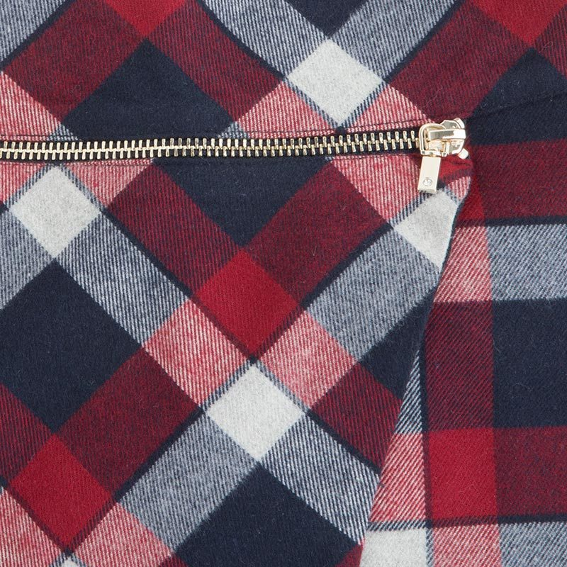 Mayoral Tween Girls Brushed Tartan Check Plaid Skirt image 3