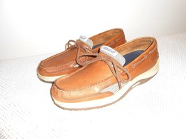 Sebago Brown Nubuck Deck Boat Casual Shoe   EURO 40   US Men 7 M  US Wom... - $31.84