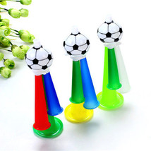 Football Soccer Trumpet Vuvuzela Fans Cheer Horn Stadium Game Cheerleadi... - ₨127.69 INR