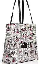Disney Parks Kate Spade New York Minnie Mouse Comic Tote Handbag - $186.07