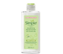 Simple Soothing Facial Toner 200ml Refresh Skin Without Drying EXPEDITE SHIP  - $28.89