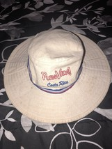 Tan Distressed Costa Rica Bucket Hat Dragon Size L - $14.50