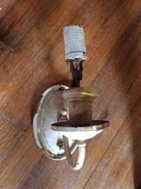 vintage  brass Colonial sconces light fixture antique lamp wall - $35.00