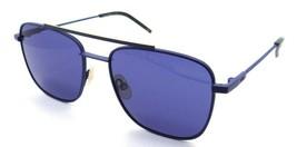 Fendi Sunglasses FF M0008/S FLLKU 55-18-145 Matte Blue / Blue Made in Italy - $196.00