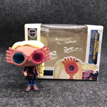 Movie Harry Potter Character Luna Lovegood with Glasses 10cm Vinyl Doll ... - $17.81