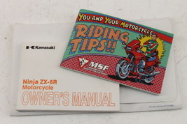 2009-2012 Kawasaki Ninja ZX6R ZX600RC Original Owners Manual Book - $22.43