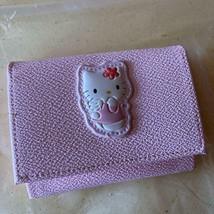 Sanrio Vintage Hello Kitty Business Card Case Pink Angel Rare Cute  - $38.72