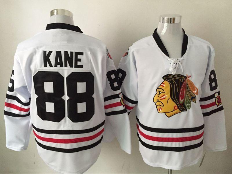 88 Patrick Kane - Men's Chicago Blackhawks Ice Hockey Jerseys #White for sale  USA