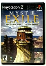 Myst III Exile PlayStation 2 PS2 Game 2002 Complete with Manual (M9) - $12.59