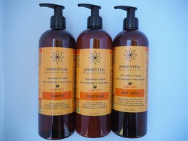 16oz 3 set Shampoo Body Wash Conditioner Vegan For All Hair Types - $90.00