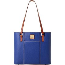 Dooney & Bourke Pebble Small Lexington Tote, Royal Blue Purse handbag