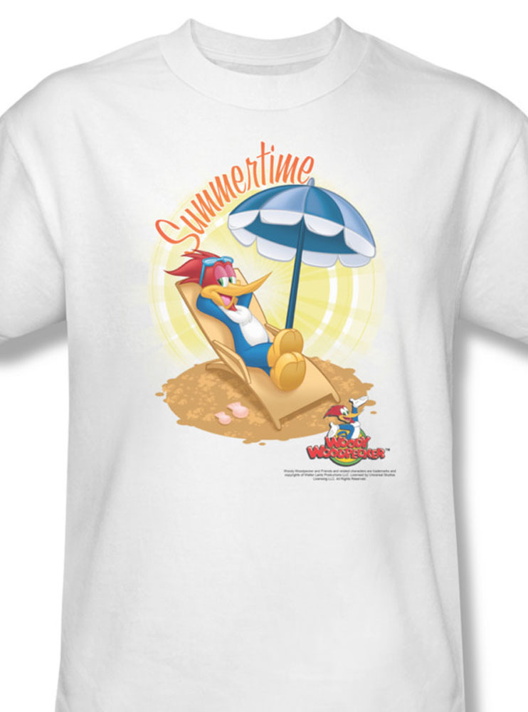 Er cartoon animated bugs bunny summertime daffy duck for sale online white graphic tee uni227 at