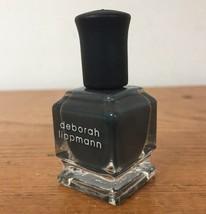 Deborah Lippmann Stormy Weather Dark Slate Gray Nail Polish Lacquer Smal... - $12.99