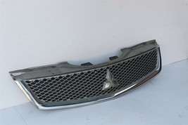 09 10 11 12 Mitsubishi Galant Front Upper Radiator Hood Grill Mesh Chrome image 2