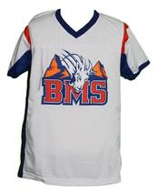 Harmon Tedesco #1 BMS Blue Mountain State New Football Jersey White Any Size image 4