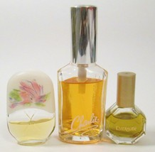 Mixed Lot of Vtg to Now Perfumes Le Jardin EMERAUDE Charlie Gently Used - $12.00