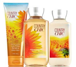 Bath & Body Works Country Chic Trinity Gift Set - $36.21