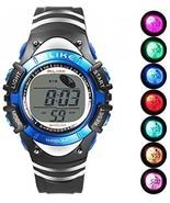 Boys Digital Sport Watch, Kids LED Electronic Waterproof Outdoor Watche... - £25.26 GBP