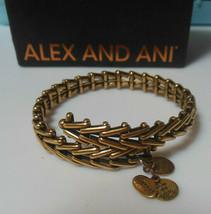 Alex And Ani Vintage Sixty Six Gypsy Wrap Bracelet  - $44.55