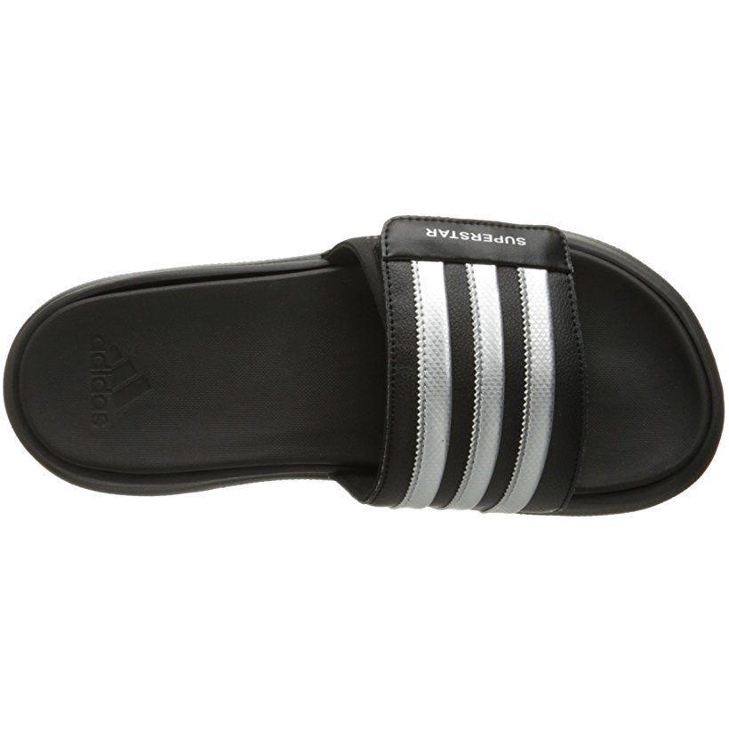 ee6fe1a4328ee2 Men s Adidas Performance Superstar 4G Athletic Slides Sandals (AQ5893) Black