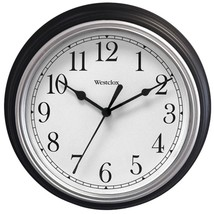 Westclox 46991A 9 Decorative Wall Clock (Black) - $24.17