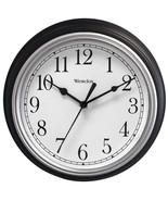 Westclox 46991A 9 Decorative Wall Clock (Black) - $24.18