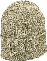 Oatmeal Ragg Wool Hat Knitted Outdoor Military Winter Cap - $11.99