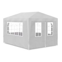 Wedding Tent 10x13 Party Garden Patio Event Walls Windows Metal Steel Se... - $124.25