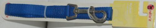 Ruffin It 31466 Nylon Leash Blue Medium Length 6 Feet Nylon