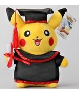 """12"""" Graduation Pokemon Pikachu Plush Very cute Item !! - $29.69"""