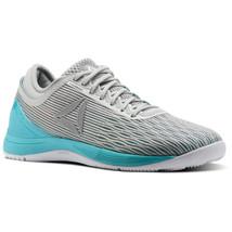 Reebok Women's CrossFit Nano 8.0 White Grey Running Shoes CN1042 - $96.91