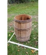 Home Treasure Antique Wooden Barrel Wood Rustic Old Twig Rings Vintage R... - $47.49