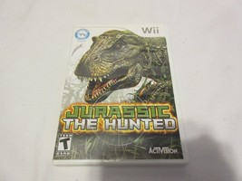 Jurassic: The Hunted (Nintendo Wii, 2009) Fully Tested No Manual Game BIN OOP - $11.99
