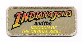 Indiana Jones and the Kingdom of the Crystal Skull Movie Logo Embroidere... - $7.84