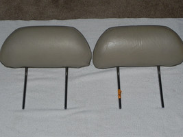92-93 Lexus ES300 3.0L V6 Power Seat Headrest Set of 2 Tan - $30.47