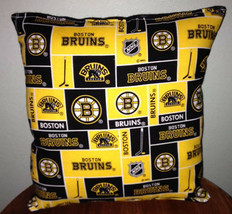 Bruins Pillow Boston Bruins Pillow NHL Handmade in USA - $9.97