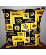 Bruins Pillow Boston Bruins Pillow NHL Handmade in USA - $9.97
