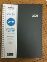 Blue Sky 2020 Weekly/Monthly Wirebound Sipral Tabbed Planner 8.5 x 6.5 B... - $21.78