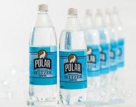 Polar 100% Natural Seltzer Water 33.8 Fl. Oz, Pack of 12 Original
