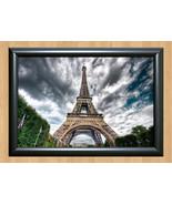 Paris Eiffel Tower Home Decor Art A4 Poster Print Photo Wall Art Le Fran... - $9.95